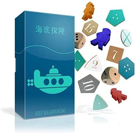 Deep Sea Adventure - Oink Games - Review