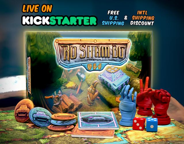 Ro Sham Bo on Kickstarter Now